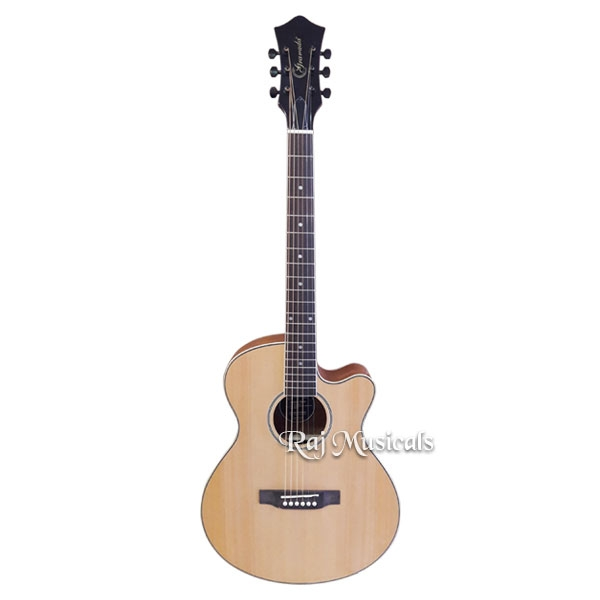 Granada GC-100CEQ Dreadnought Cutaway Semi Acoustic Guitar