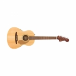 Fender Sonoran Mini Walnut Fingerboard Acoustic Guitar With Bag - Natural