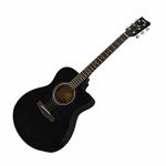 Yamaha FS80C Black Acoustic Guitar