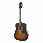 Epiphone DR-100 Dreadnought Acoustic Guitar - Vintage Sunburst