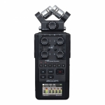 Zoom H6 All Black Portable Handy Recorder