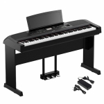 Yamaha DGX-670B 88-Keys Portable Digital Grand Piano With Stand and Pedal