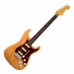 Fender American Ultra Stratocaster HSS Rosewood Fingerboard Electric Guitar - Aged Natural