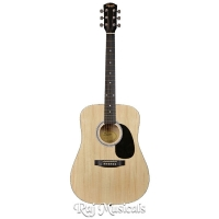Fender Squier SA-105 Natural Acoustic Guitar