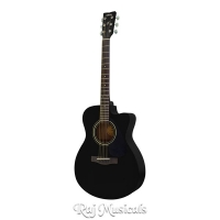 Yamaha FS100C Black Acoustic Guitar