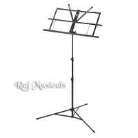 Armour MS3127BK 3 Section Music Stand