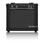 BEHRINGER ULTRABASS BT108 BASS AMPLIFIER