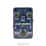 SKS Audio Musiwewe Delay Guitar Effect Pedal Light Purple