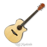 Ibanez AEG8E Natural Semi Acoustic Guitar