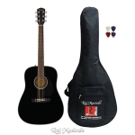 Fender CD-60S Dreadnought Acoustic Guitar - Black