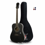 Epiphone DR-100 Dreadnought Acoustic Guitar Ebony