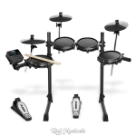 Alesis Turbo Mesh Kit Seven Piece Electronic Drum Kit With Mesh Heads
