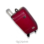 Tabla Fiberglass Case - Burgundy Red Color