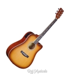 Hertz HZA5100 Electro-Acoustic Guitar (Honey Sunburst)