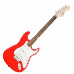 Fender Squier Affinity Stratocaster SSS Electric Guitar - Race Red