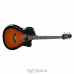 Ashton D10C 39-Inch Cutaway Acoustic Guitar - Tobacco Sunburst Gloss