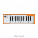Arturia Microlab Orange 25 Key USB Midi Keyboard Controller