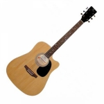 Pluto HW41C-201 Acoustic Guitar - Natural