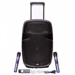 Takara T-7115 15-Inch Portable Trolley Speaker