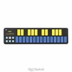 Korg nanoKEY2 Limited Edition USB Slim-Line USB MIDI Controller Blue-Yellow