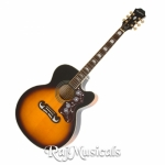 Epiphone EJ-200SCE Acoustic-Electric Guitar - Vintage Sunburst