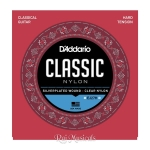 Daddario EJ27H Student Nylon Hard Tension Classical Strings