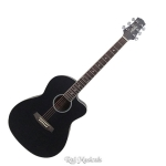 Ashton D10C Black Matt 39-Inch Cutaway Acoustic Guitar